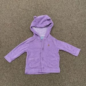 Gap Terry Cloth Hoodie (6-12 month)
